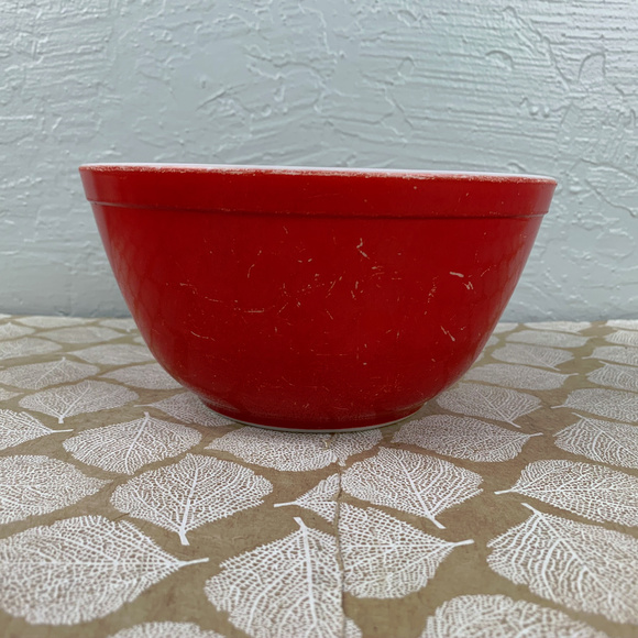 Pyrex Other - Vintage Pyrex Primary 402 Red Mixing Bowl